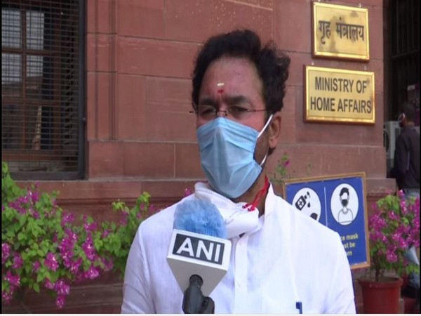Union Minister G Kishan Reddy speaking to ANI in New Delhi on Thursday. Photo/ANI