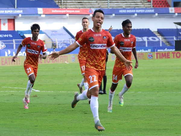 Redeem Tlang doubled FC Goa's lead in the space of 3 minutes. (Photo/ ISL)