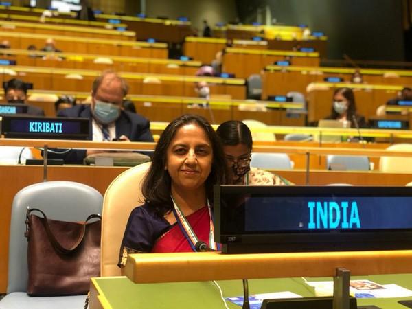 Reenat Sandhu, Secretary West to represent India 76th session of UNGA. (Twitter)