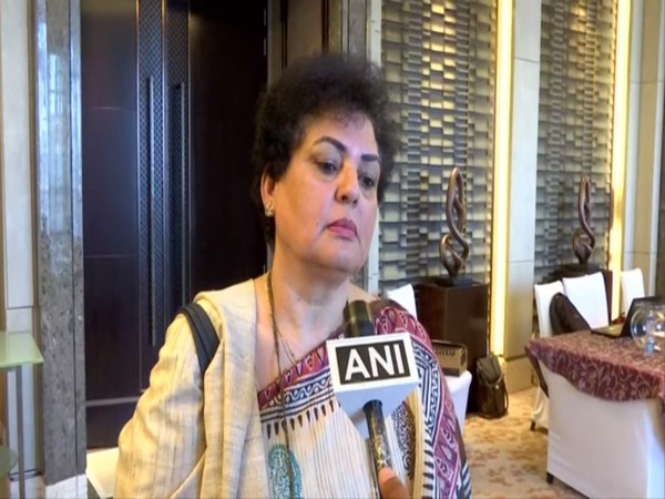 NCW chairperson Rekha Sharma talking to ANI in New Delhi on Friday. Photo/ANI