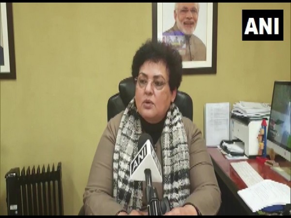 NCW chairperson Rekha Sharma speaking to ANI in New Delhi on Wednesday.