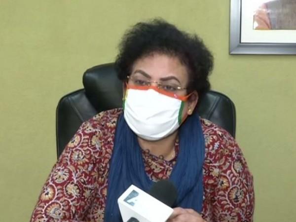 NCW chairperson Rekha Sharma speaking to ANI on Monday. Photo/ANI