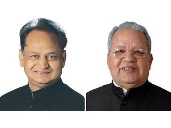 Chief Minister Ashok Gehlot and Governor Kalraj Mishra - Rajasthan