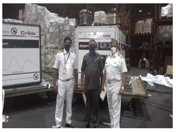 78,595 vials of Remdesivir from the United States of America landed at Mumbai Airport last night. The vials are being distributed to various States