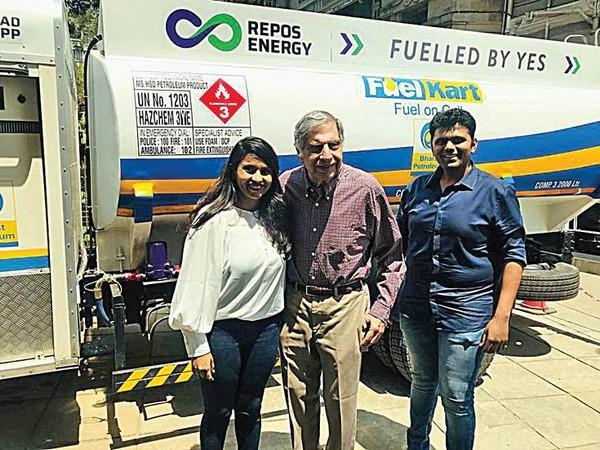 The company enables door-to-door delivery of diesel in nearly 65 Indian cities