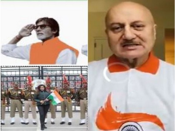 Amitabh Bachchan, Anupam Kher, Raveena Tandon and others extend their Republic day wishes (Image courtesy: Instagram/Twitter)
