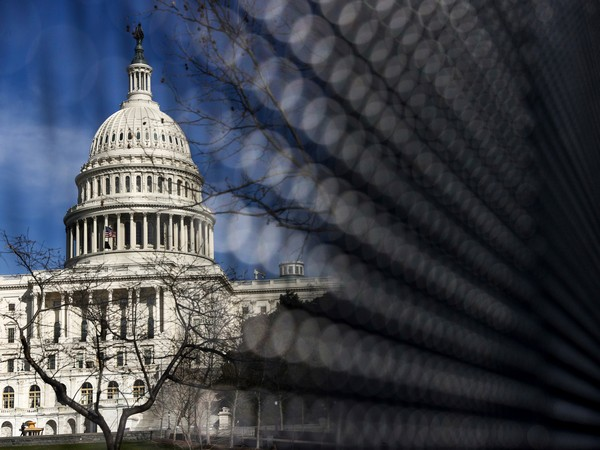 US Capitol fence after the attack on Jan 6.  (Photo/Credit: Reuters Image)