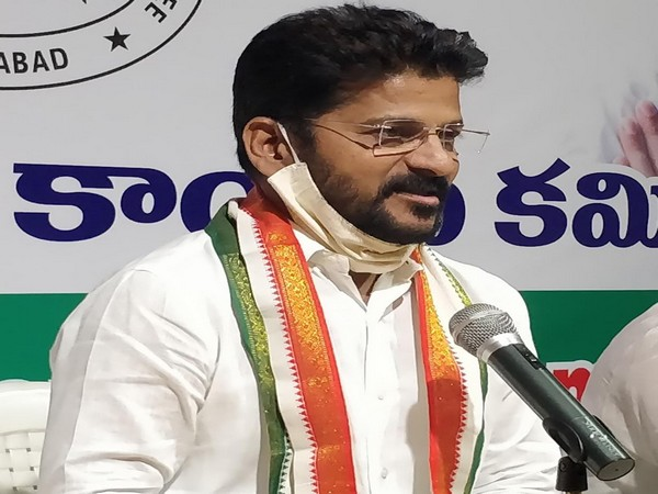 Telangana Congress MP Revanth Reddy (File photo)