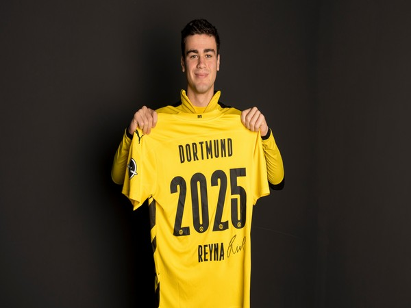 Borussia Dortmund midfielder Gio Reyna (Photo/ Borussia Dortmund Twitter)