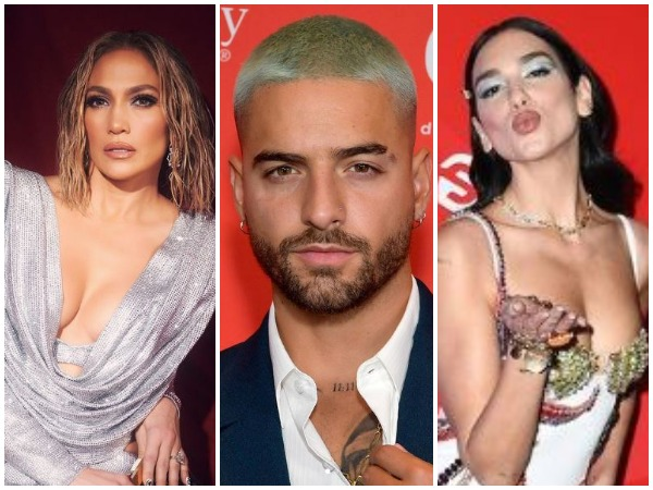 Jennifer Lopez, Meluma and Dua Lipa (Image courtesy: Instagram)