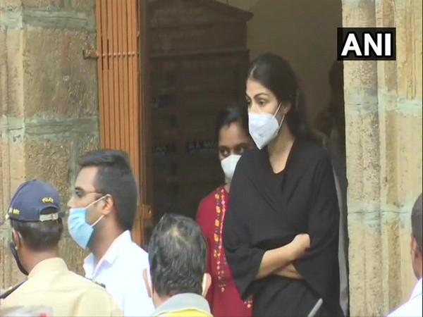 Actress Rhea Chakraborty (file photo)