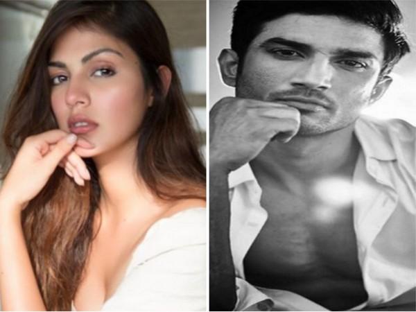 Rhea Chakraborty and Sushant Singh Rajput (Image source: Instagram)