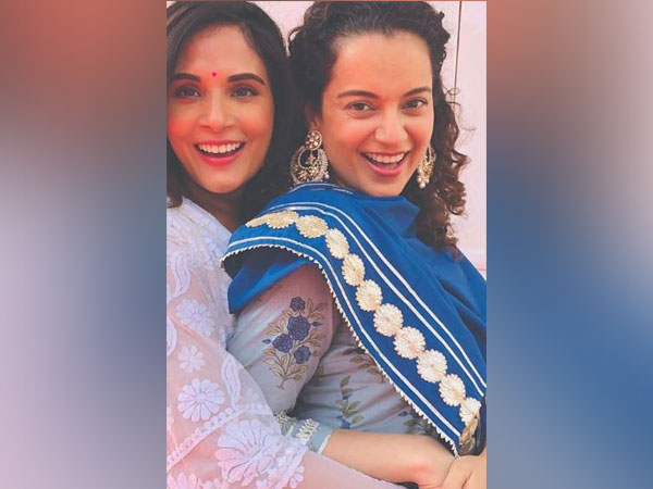 Richa Chaddha and Kangana Ranaut (Image courtesy: Instagram)