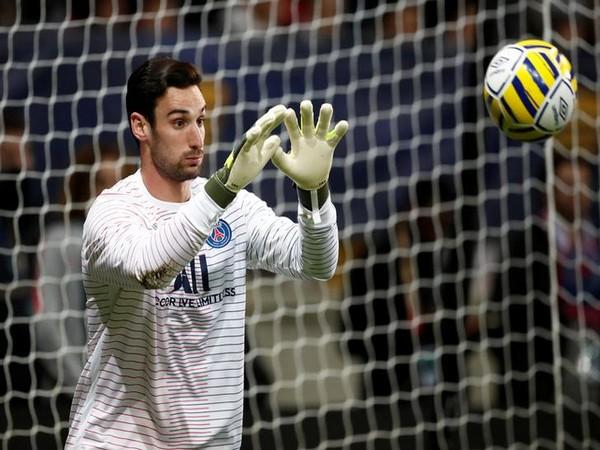 PSG goalkeeper Sergio Rico