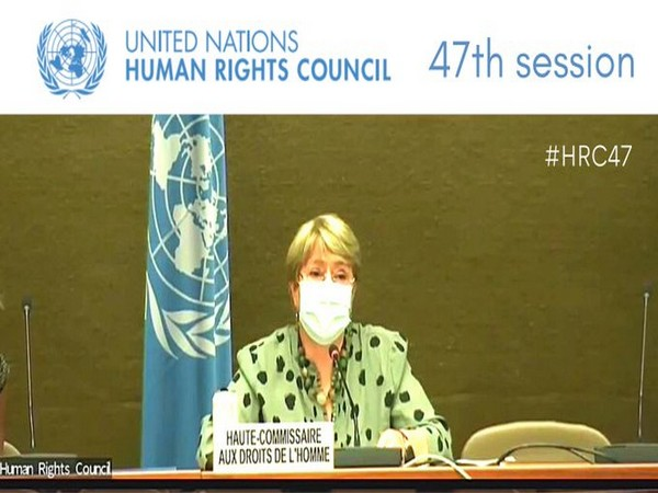 UN High Commissioner for Human Rights Michelle Bachelet (Photo Credit: UN Rights council)
