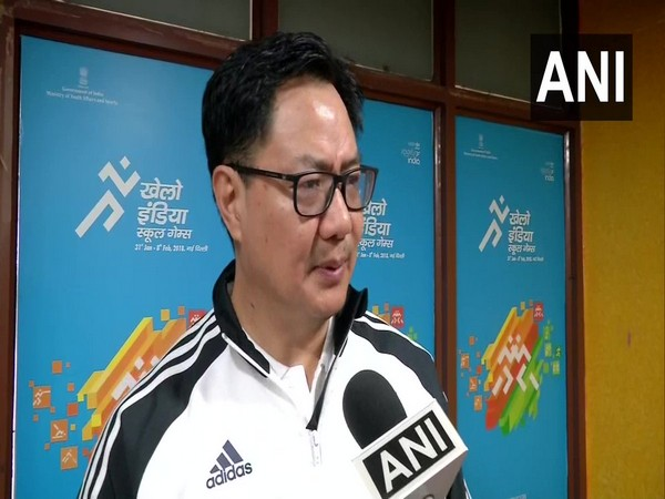 Kiren Riijiju, the Union Minister for Youth Affairs and Sports (file photo)