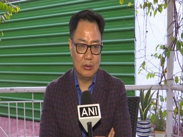 Kiren Rijiju, the Union Minister for Youth Affairs and Sports (file image)
