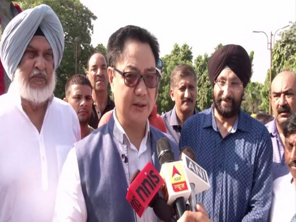 Union Youth Affairs and Sports Minister Kiren Rijiju