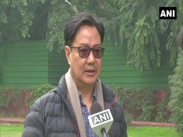 Union Minister for Youth Affairs and Sports Kiren Rijiju (file image)