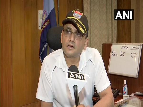 Inspector General Abhinav Kumar of Garhwal Range speaks to ANI on Friday. (Photo/ANI)