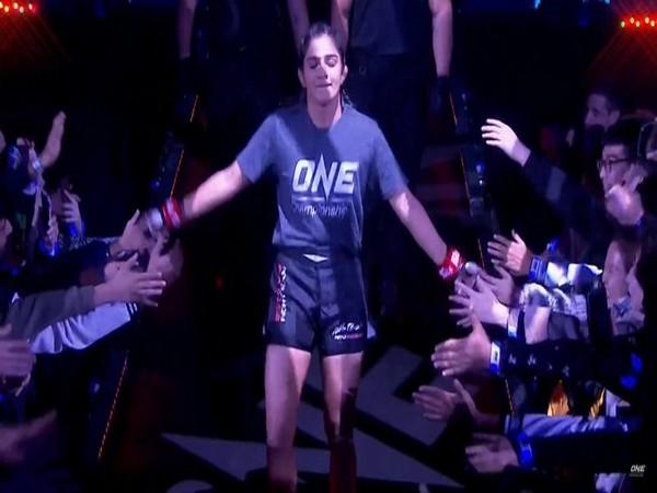 Ritu Phogat (Photo/MMA India Twitter)