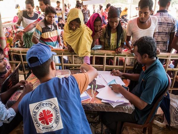 A food distribution system for Rohingya refuges in Bangladesh