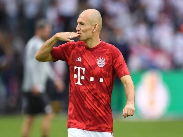 Former Bayern Munich and Netherlands striker Arjen Robben.