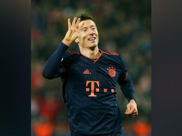 Bayern Munich striker Robert Lewandowski (File photo)