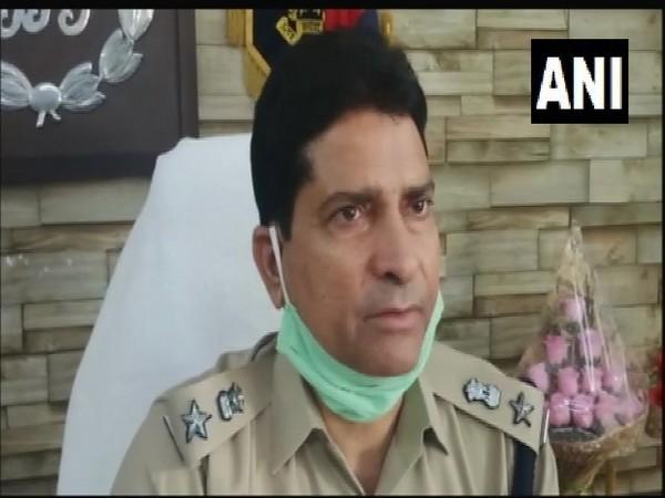 Superintendent of Police Mirza Manzar Beg speaks to ANI on Monday. (Photo/ANI)