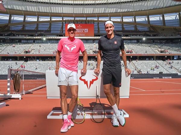 Rafael Nadal and Roger Federer (Photo/ Roger Federer Twitter)