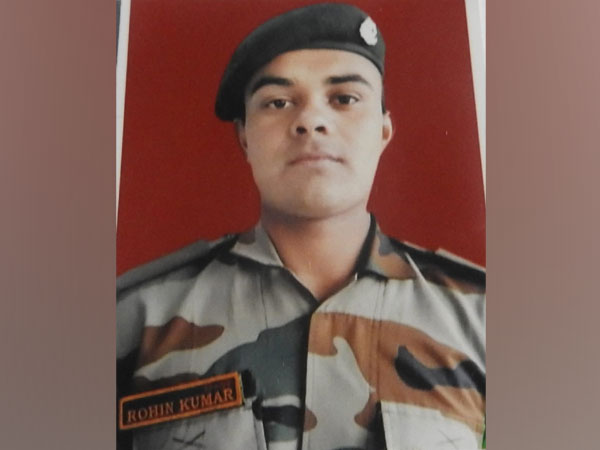 Sep Rohin Kumar who lost his life in a ceasefire violation today.