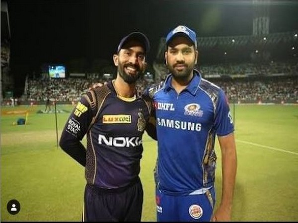 Dinesh Karthik with Rohit Sharma (Photo/ Rohit Sharma Instagram)