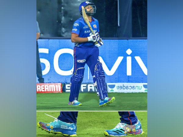 Mumbai Indians skipper Rohit Sharma (Photo/ Rohit Sharma Twitter)