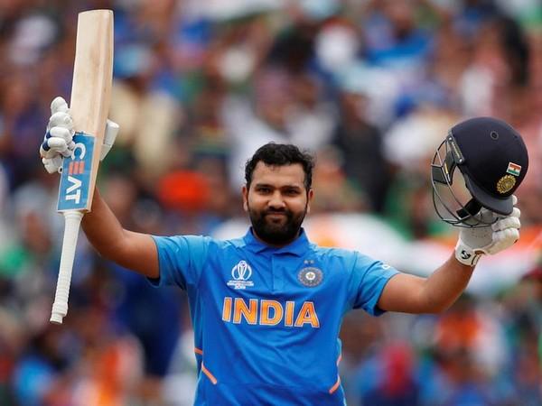 India batsman Rohit Sharma.