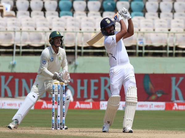 Indian batsman Rohit Sharma (Photo/BCCI Twitter)