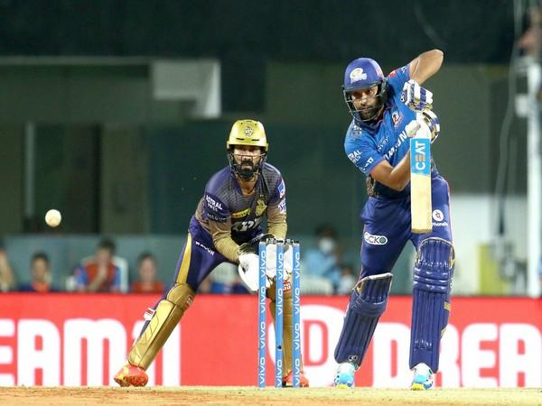 Mumbai Indians skipper Rohit Sharma (Photo/ Mumbai Indians Twitter)