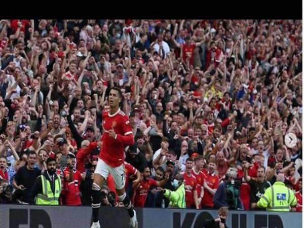 Manchester United striker Cristiano Ronaldo (Photo/ Cristiano Ronaldo Twitte)