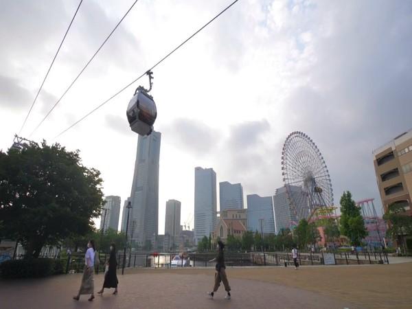 Japan: Ropeway in Yokohama city attracts visitors