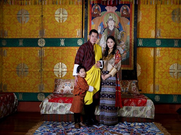 The Royal Family of Bhutan (Photo taken from Facebook page of Queen of Bhutan)