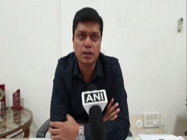 Raushan Kumar Singh, CEO, District Panchayat speaking to ANI on Friday. photo/ANI