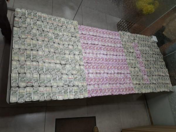 ACB seized Rs 4.47 crore in Telangana on Tuesday. Photo/ANI