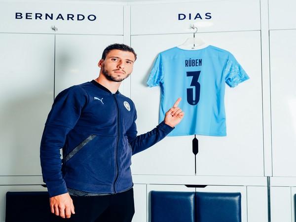 Portuguese defender Ruben Dias (Photo/Manchester City Twitter)