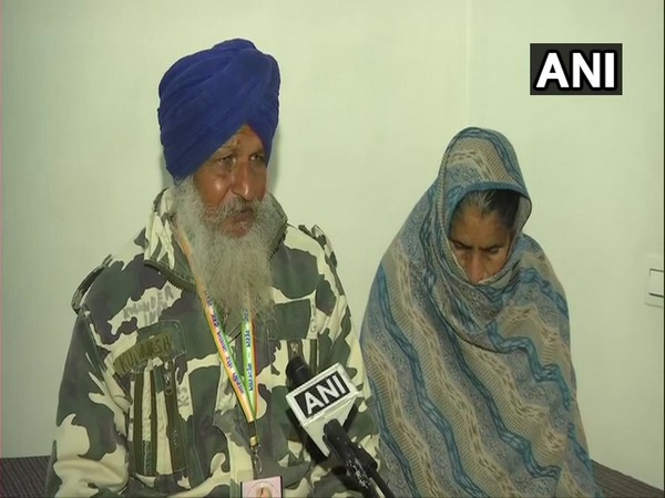 Parents of CRPF Constable Kulwinder Singh who lost his life in 2019 Pulwama terrorist attack in Jammu and Kashmir.