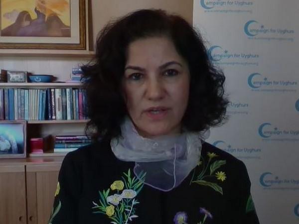 Uyghur-American activist Rushan Abbas.