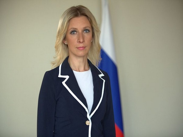 Russian Foreign Ministry Spokeswoman Maria Zakharova (file photo)