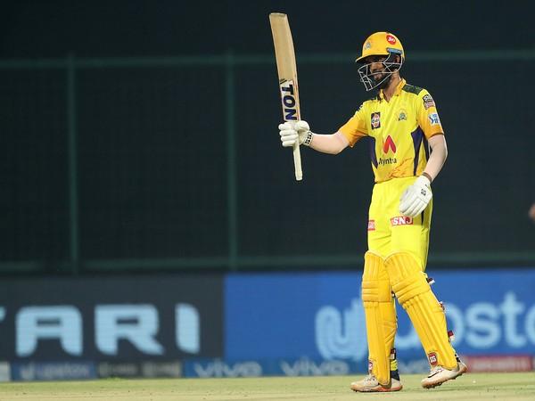 CSK batsman Ruturaj Gaikwad (Photo/ IPL Twitter)