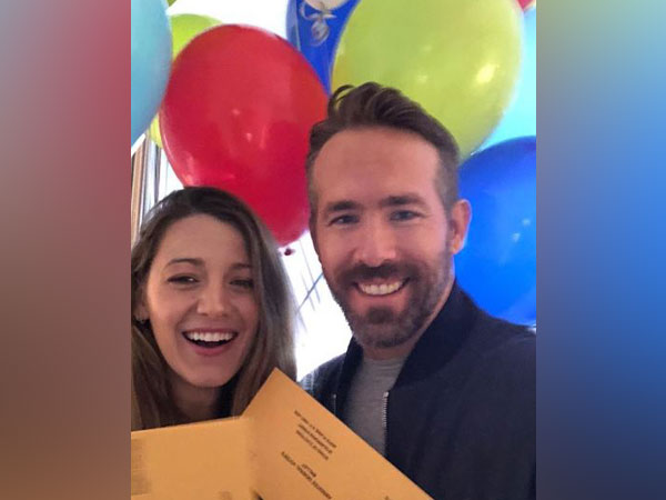 Blake Lively and Ryan Reynolds (image courtesy: Instagram)