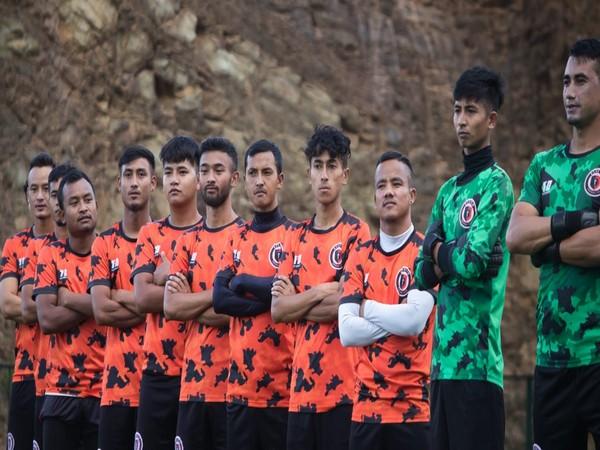 Ryntih FC players. (Photo/ I-League media)