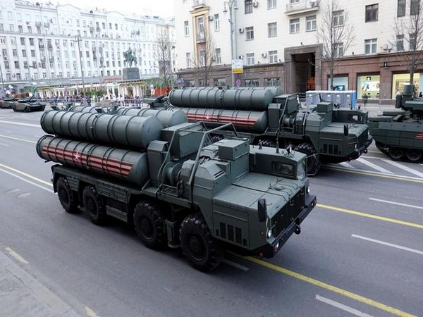 Russian S-400 surface-to-air missile defence systems (File photo)