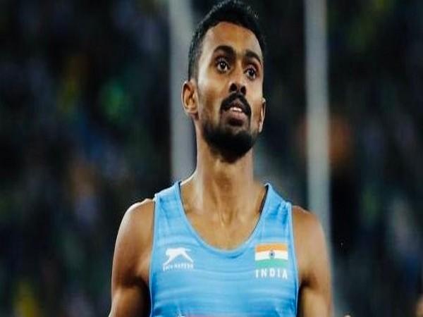 Indian athlete Muhammed Anas (Photo/SAI Media Twitter)